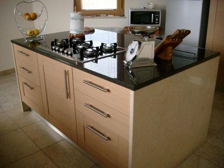 isola Marmo decorazione cucina : isola cucina - arte pietra snc